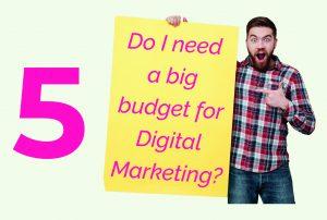 digital marketing budget 2020