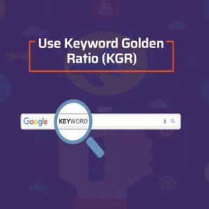 keyword golden ratio