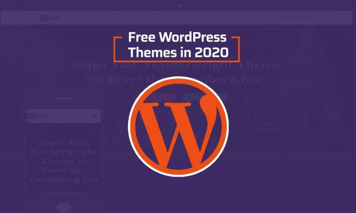 free wordpress themes in 2020