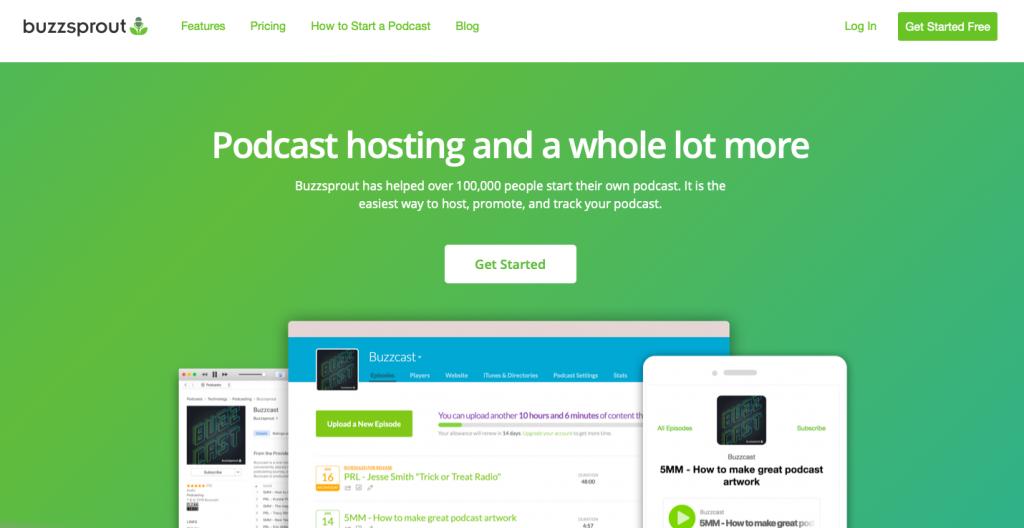 Buzzsprout Podcast Platform